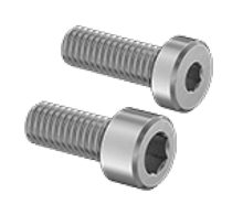 M4 and M5 hex screws. Pack of 10 each.